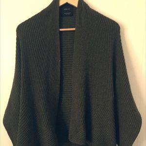 ZARA 3/4 dolman cocoon sweater sz M